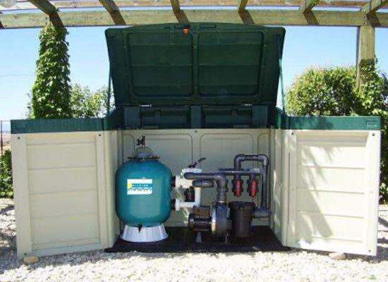 Depuradora elevada tienda de piscinas for Tapa depuradora piscina