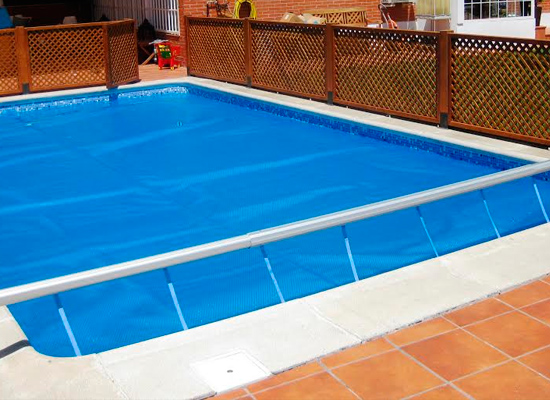 Mantas termicas para piscinas precios awesome piscina for Cubre piscinas bestway