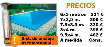 Cobertor de seguridad para piscina cobertores de for Precio cobertor piscina
