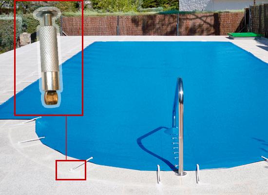 Cobertor de seguridad para piscina cobertores de invierno tienda de piscinas - Manta de invierno para piscina ...