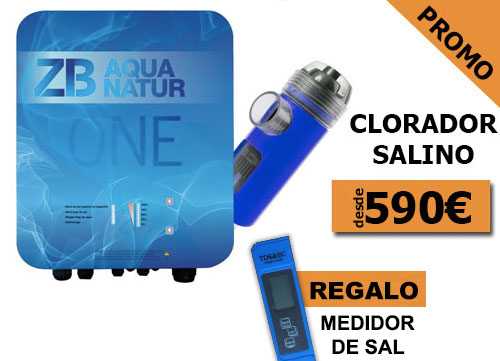 oferta en clorador salino piscina 2019